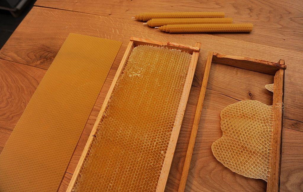 Mehiläisvaha, vahakenno
